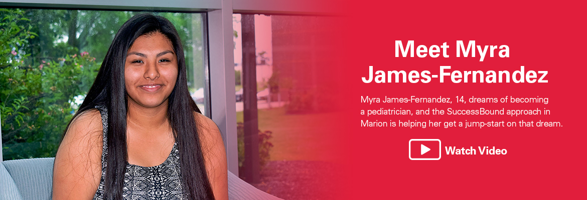 Meet Myra James-Fernandez Watch Video